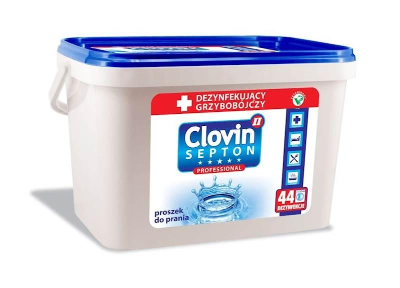 CLOVIN SEPTON 5kg proszek antybak. DEZYNF wiaderko