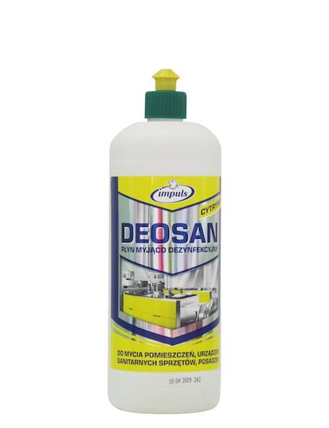 PROMO!!! DEOSAN płyn myjąco-dezynfekujący 1L