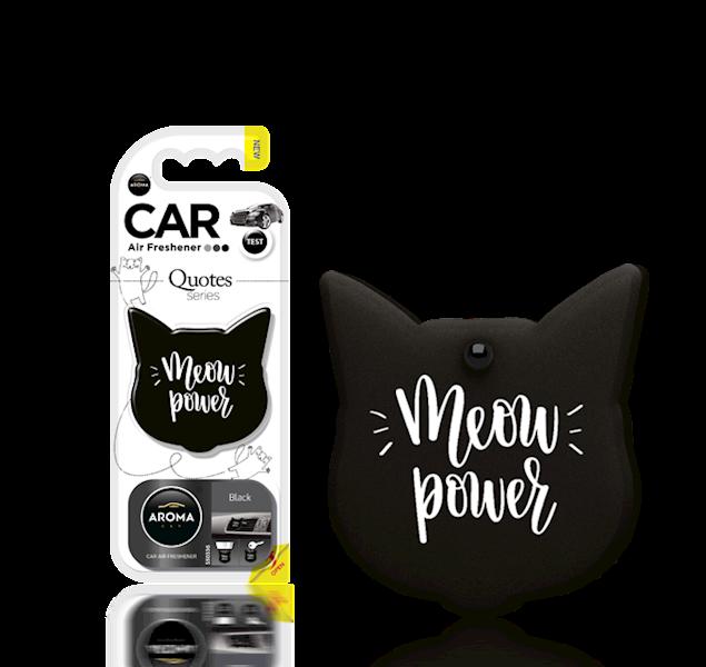 Zapach CAR QUOTES CAT BLACK