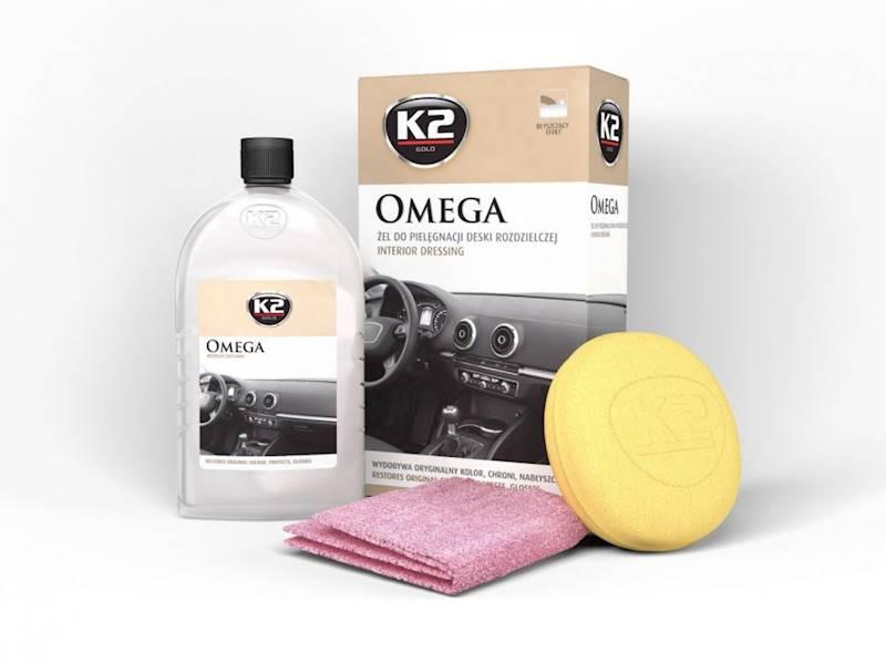 Preparat K2 OMEGA GOLD - do pielęgnacji kokpitu