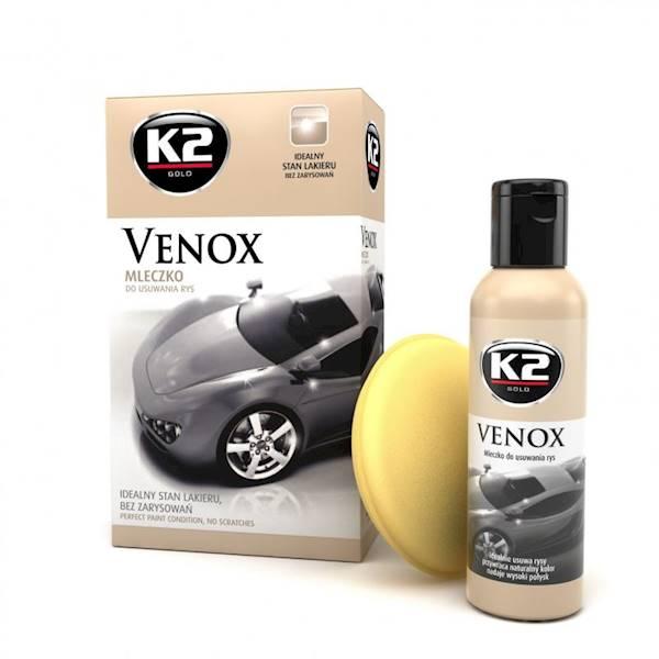 Preparat K2 VENOX GOLD - mleczko do usuwania rys
