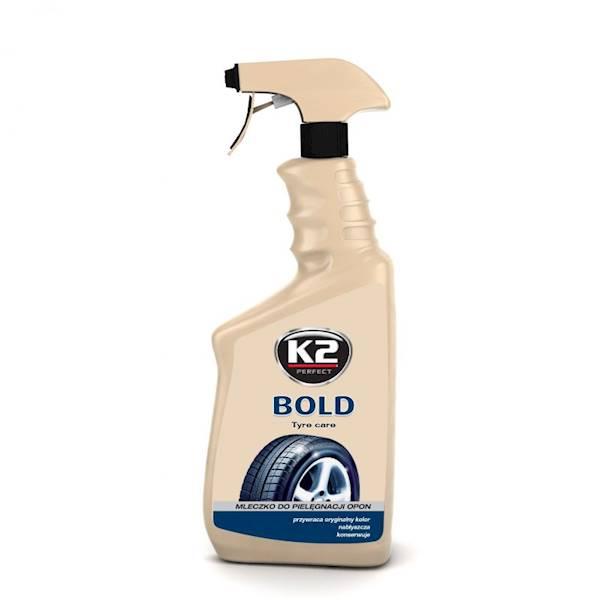 Preparat K2 BOLD - mleczko do pielęgnacji opon