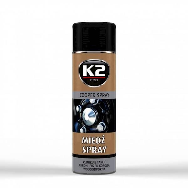 Preparat K2 MIEDŹ W SPRAY 400ML