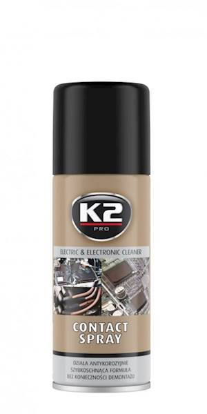 Preparat K2 KONTAKT SPRAY CZYŚCI INST.ELEKT.400ML