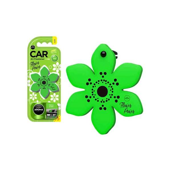 Zapach CAR FLOWER FANCY GREEN