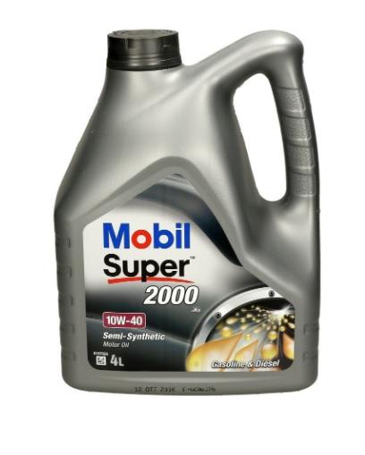 Olej MOBIL SUPER 2000 X1 4L 10/40