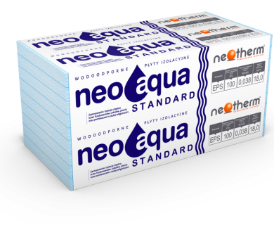 STYROPIAN NEOAQUA STANDARD EPS 100 038 (3,0t/m2)