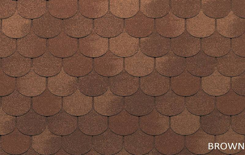 GONT BITUMICZNY TEGOLA ECO ROOF TRADITIONAL BROWN gr.3,1mm (3,05m2/op.)