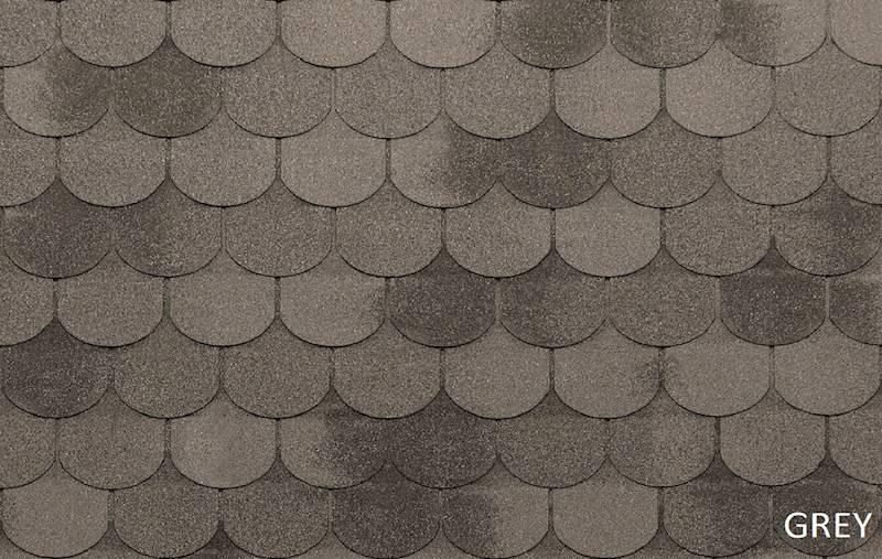 GONT BITUMICZNY TEGOLA ECO ROOF TRADITIONAL GREY gr.3,1mm (3,05m2/op.)