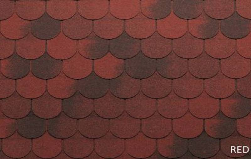 GONT BITUMICZNY TEGOLA ECO ROOF TRADITIONAL RED gr.3,1mm (3,05m2/op.)
