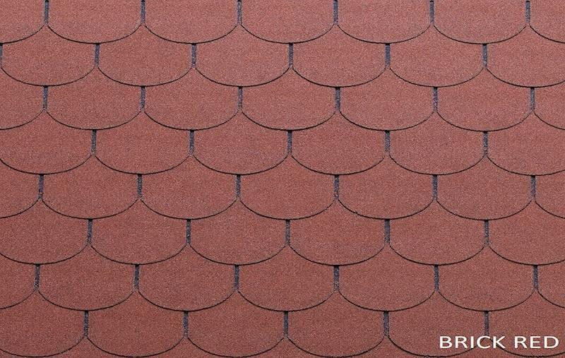 GONT BITUMICZNY TEGOLA PREMIUM TRADITIONAL BRICK RED gr.3,1mm (3,05m2/op.)