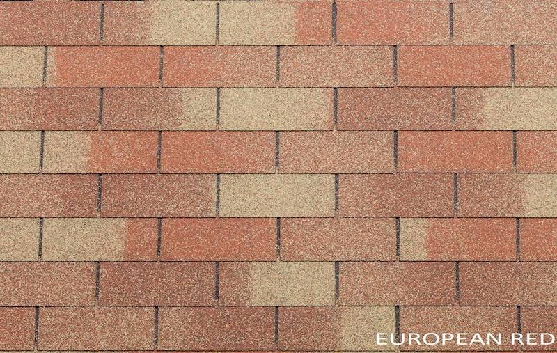 GONT BITUMICZNY TEGOLA PREMIUM RECTANGULAR EUROPEAN RED gr.3,1mm (3,05m2/op.)