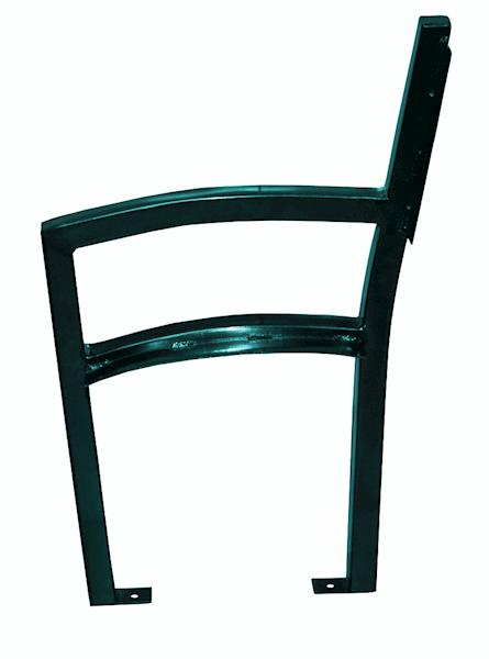 Stelaż ławki parkowej BASCO - łukowy