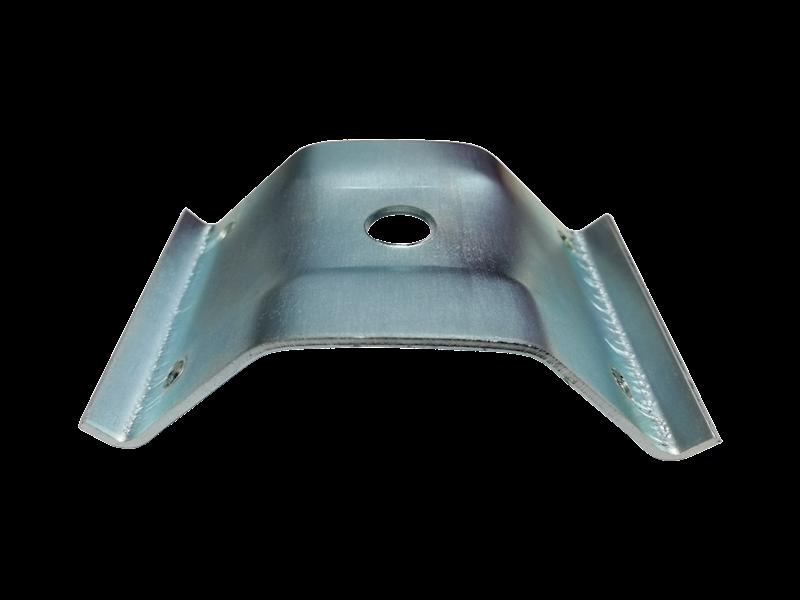 Obejma nogi stołu 55 wygięta PREMIUM - ocynk galwaniczny