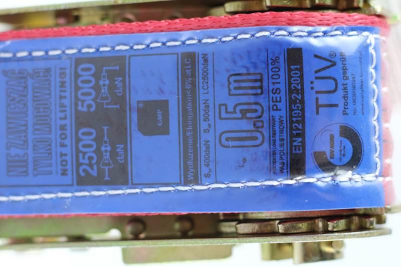 Pas transportowy 10m 50mm