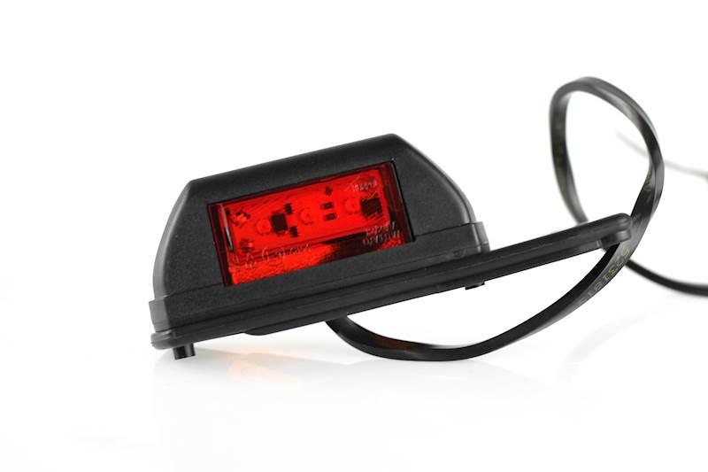 Lampa obrysowa LD731/P biało-czerwona