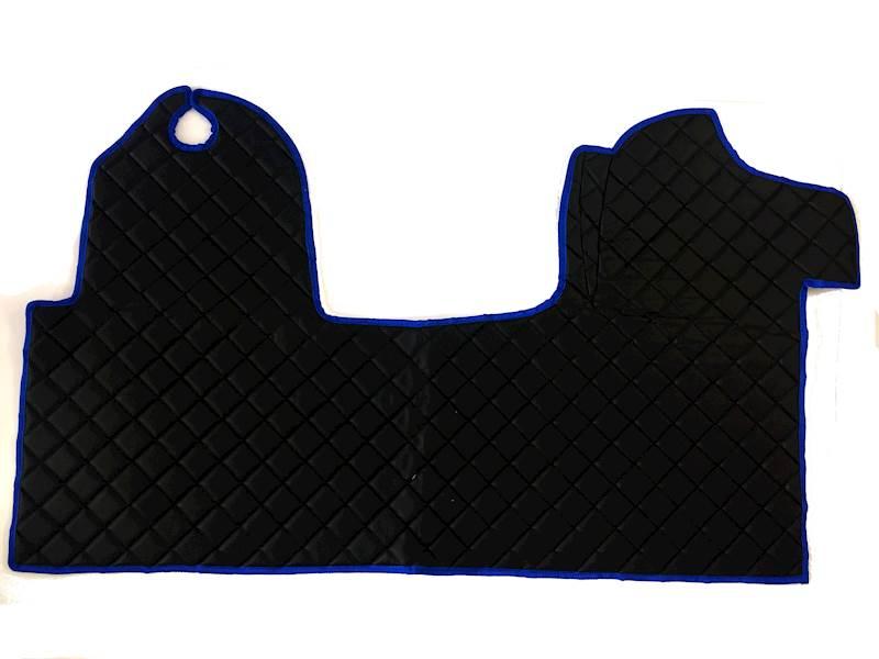 Dywanik pikowany Master 3os czarno-niebieskie
