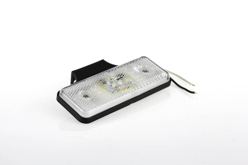 Lampa obrysowa 2x LED biała