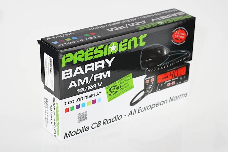 Radio CB President Barry ASC