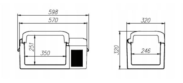 Lodówka sprężarkowa Vigo V20