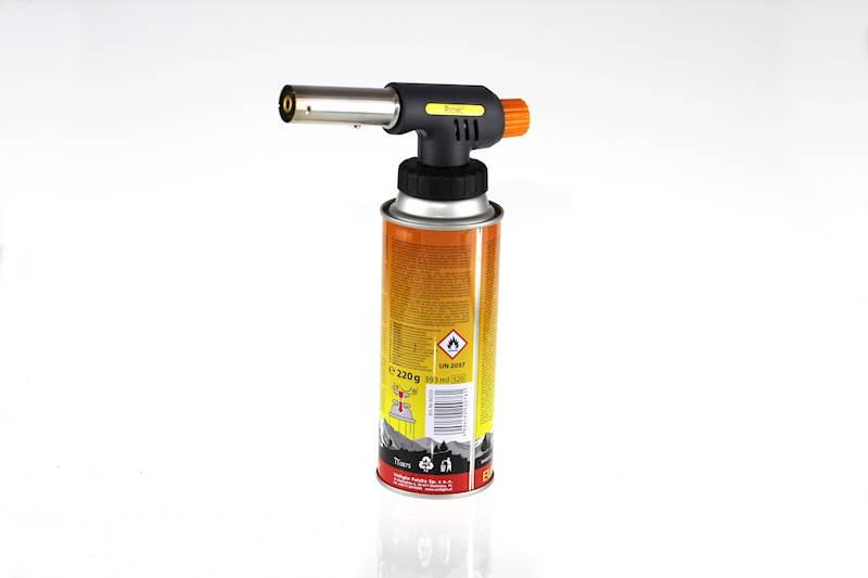 Zestaw palnik wielofunkcyjny z gazem