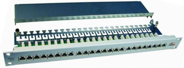 Patch Panel krosowy 24 porty STP kat.6a 1U 19""