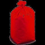 Worki sanitarne LD 70x110cm /35my/ czerwone a'25szt
