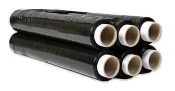 Folia stretch czarna 23my 2,5kg /2,3/