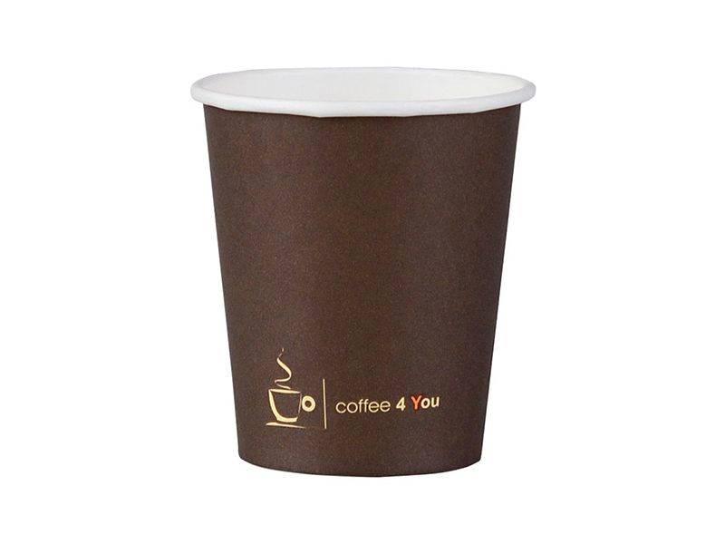 KUBEK COFFE NADRUK 180ml 100SZT
