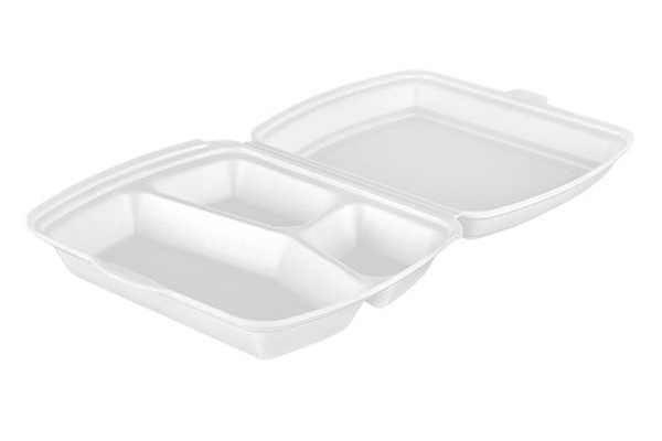 MENU BOX 3-KOMOROWY 125SZT HP4/3lin