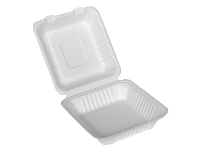 MENU BOX BURGER NATURA Trzcinowy 155X150X75 50szt