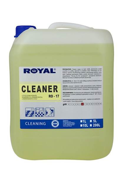 PREPARAT MYJĄCY DO PODŁÓG CLEANER 10L ROYAL