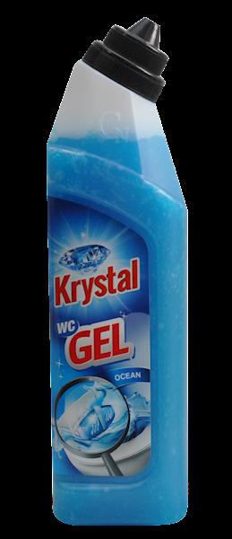 ŻEL DO WC KRYSTAL NIEBIESKI 750ML