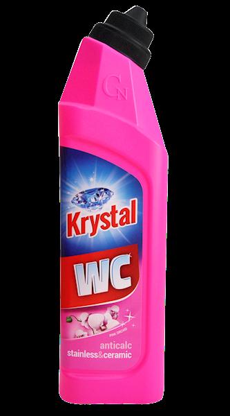 PŁYN DO CZYSZCZENIA TOALET KRYSTAL WC CLEANER RÓŻOWY 750ML