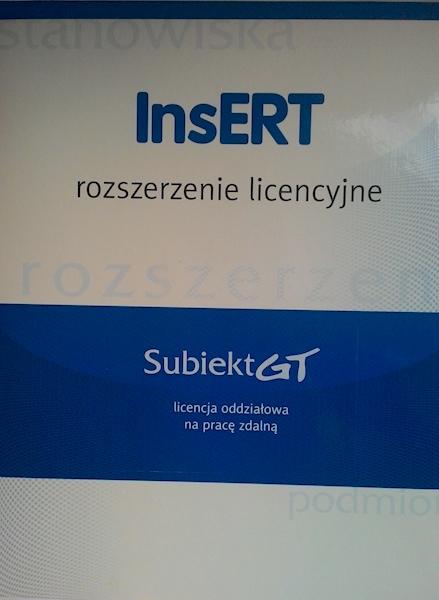 Subiekt GT - licencja zdalna