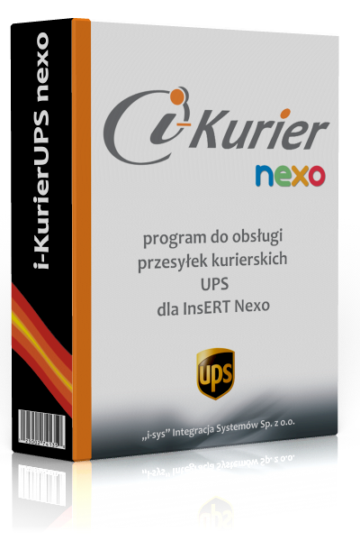 i-KurierUPS nexo • licencja na 3 miesiące