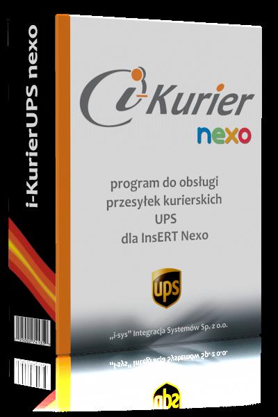 i-KurierUPS nexo • licencja na 12 miesięcy