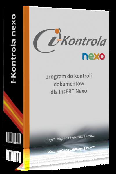 i-Kontrola nexo • Licencja na: 12 miesięcy