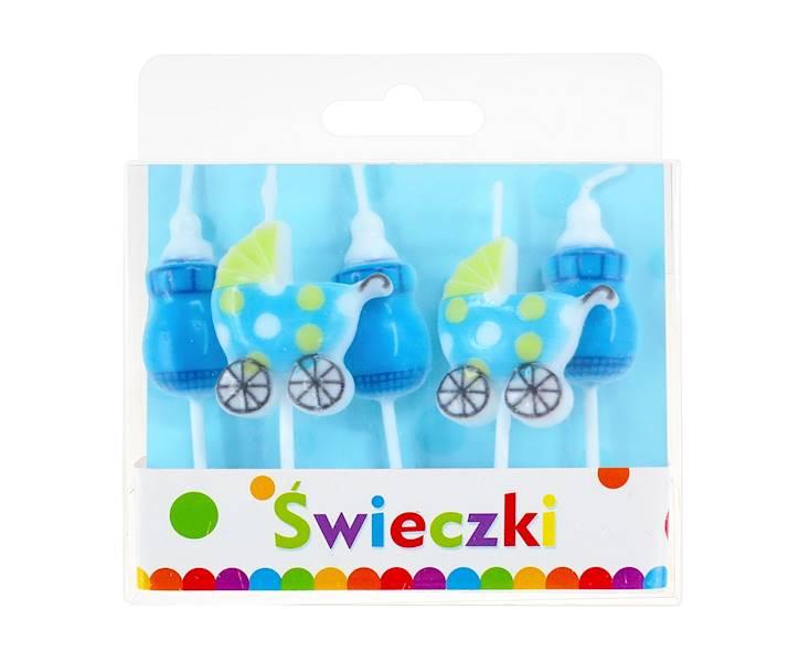 GODAN-ŚWIECZKI PIKERY BLUE BABY A`5