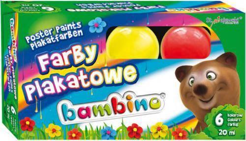 HEL-FARBY PLAKATOWE 6 KOL BAMBINO STANDARD