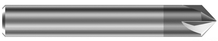 Fazownik węglikowy  VHM do metalu MF90 D=8 Z-5