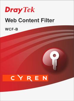 Licencja do routerów DrayTek WCF-B (roczna)
