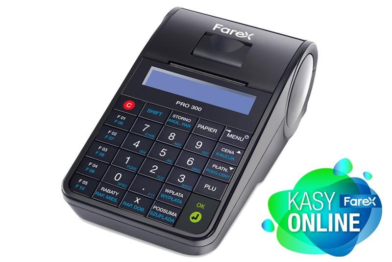 BESTSELLER! Kasa fiskalna OnLine FAREX PRO 300 GSM + LAN + WiFi*