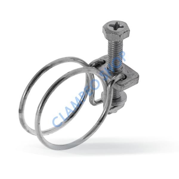 Opaska drutowa skręcana śrubą W1 - 19-22mm