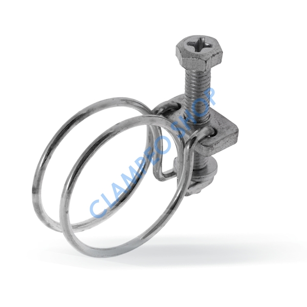 Opaska drutowa skręcana śrubą W1 - 94-100mm