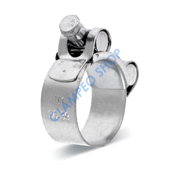 Obejma GBS Silver W1 33mm/20mm >32-35<
