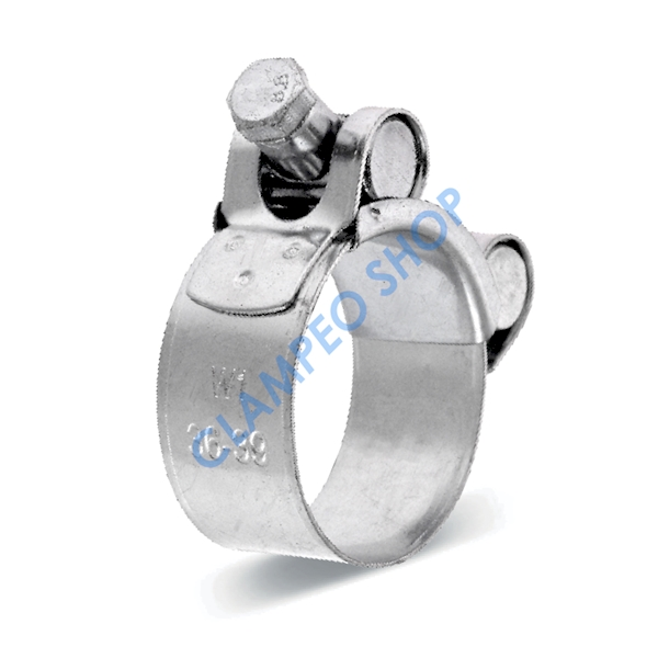 Obejma GBS Silver W1 53mm/22mm >52-55<