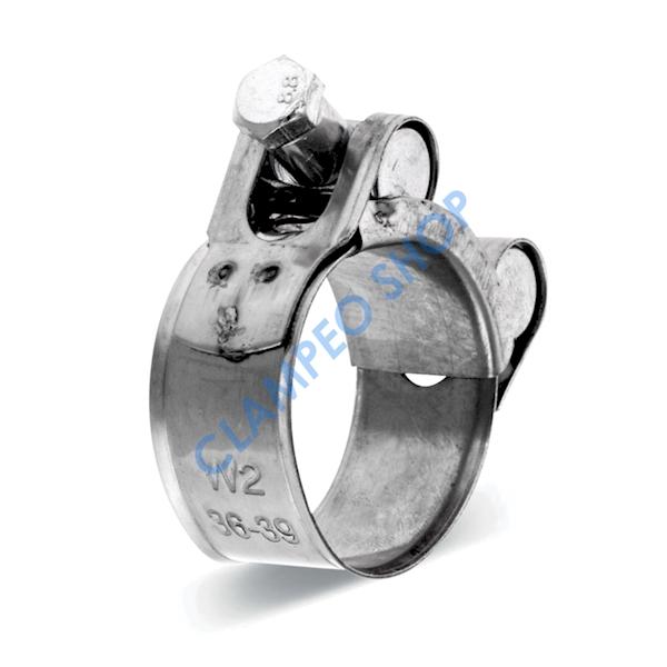 Obejma GBS Silver W2 285mm/26mm >279-291<
