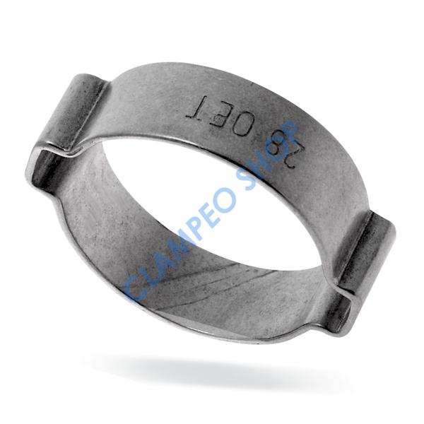 Opaska OETIKER 151 z 2 uszami - 3,1-4,1mm/3,5mm