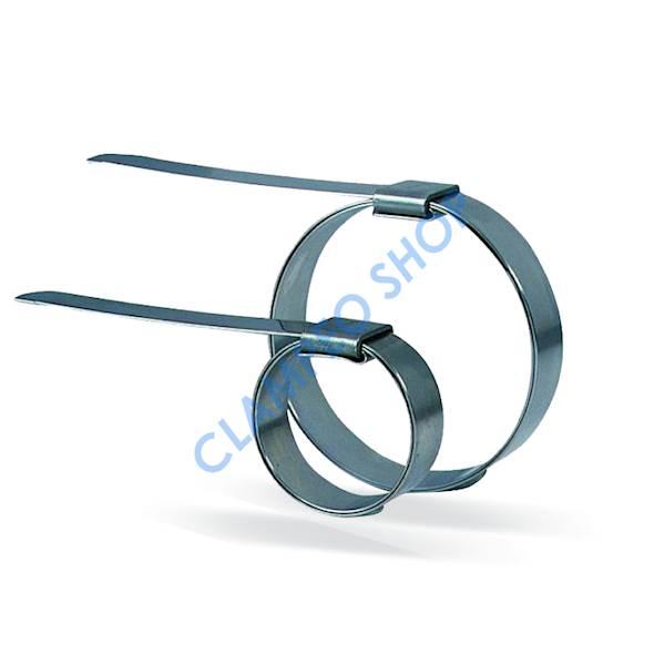 Zaciski węży elastycznych W4 25mm